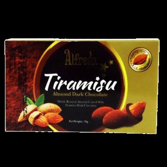 ALFREDO BOX   70g TIRAMISU ALMOND DARK
