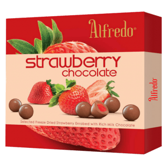 ALFREDO FREEZE DRIED STRAWBERRY MILK