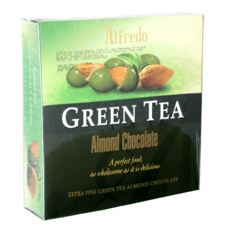 ALFREDO CUBIC WAFER GREEN TEA