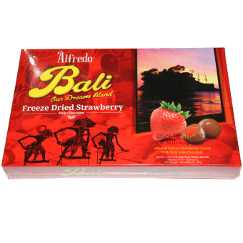 ALFREDO BALI FREEZE DRIED STRAW