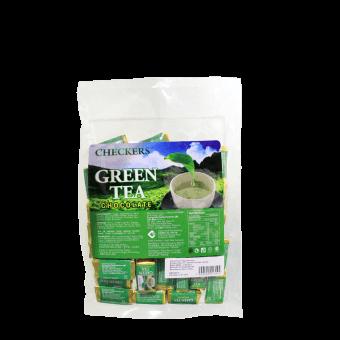 CHECKERS MINI CHUNKY GREEN TEA WHT