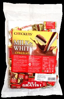 CHECKERS MINI CHUNKY MILK&WHITE