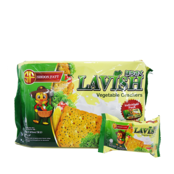 SHOONFATT LAVISH VEGETABLE CRACKERS