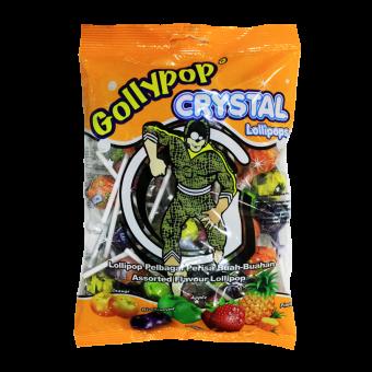 GOLLYPOP CRYSTAL LOLLIPOPS ASST. FLV.