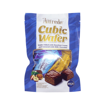 ALFREDO CUBIC WAFER HAZELNUT MILK