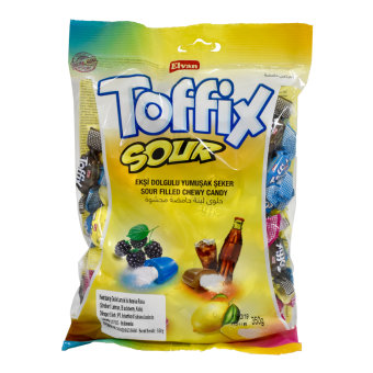 ELVAN TOFFIX SOUR CHEWY CANDY