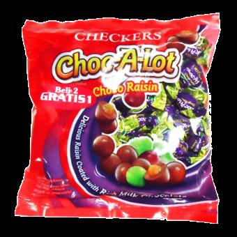 CHECKERS CHOC-A-LOT RAISIN CHO