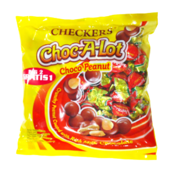 CHECKERS CHOC-A-LOT P'NUT CHO
