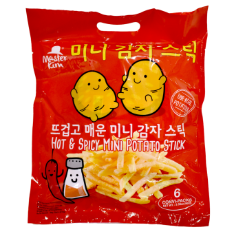 MASTER KIM HOT & SPICY MINI POTATO STICK
