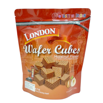 LONDON WAFER CUBES HAZELNUT