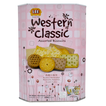LEE BISCUITS WESTERN CLASSIC ASSORTED