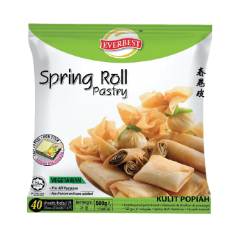 EVERBEST  500g SPRING ROLL PASTRY 8.5