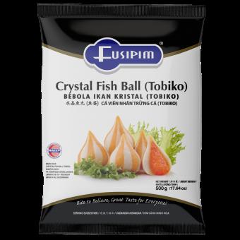 FUSIPIM (F1195) CRYSTAL FISH BALL TOBIKO