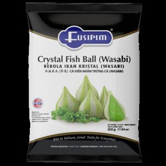 FUSIPIM (F1196) CRYSTAL FISH BALL WASABI