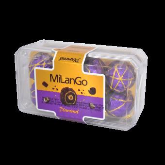 MILANGO DIAMOND MILK CHOCO WAFER WITH HAZELNUT