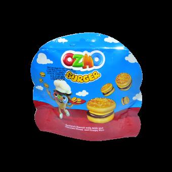 OZMO BURGER MILK CHOCO CRISPY RICE
