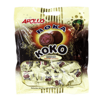 APOLLO ROKA KOKO CHOC WAFER BALL (1075G)