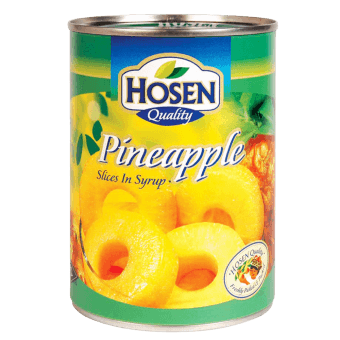 HOSEN PINEAPPLE SLICES IN SYRUP