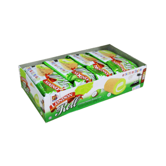 Swiss Roll Tray Pandan